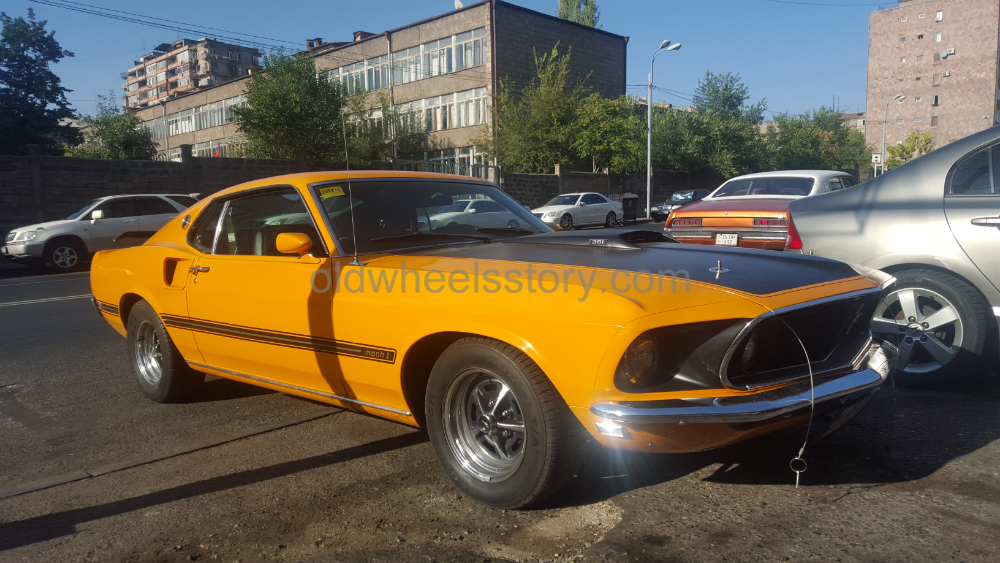 1969 Mach 1 Ford Mustang