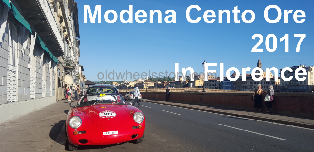 Modena Cento Ore 2017 in Florence