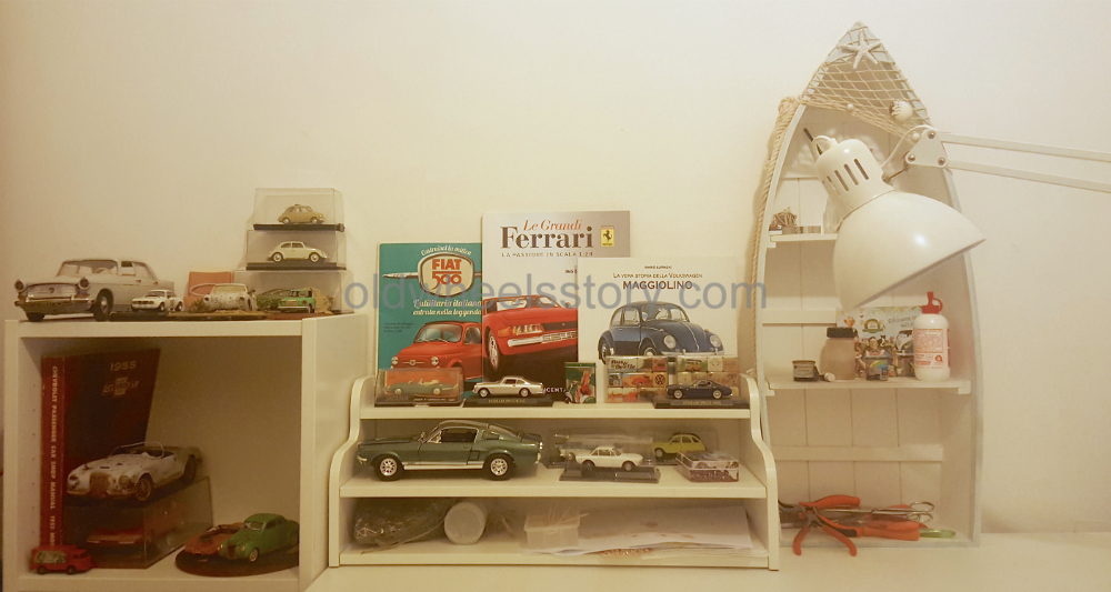 Starting to build customized die-cast models and dioramas
