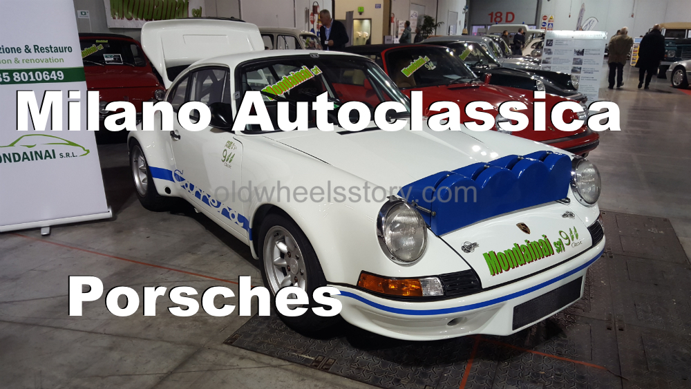 Milano Autoclassica 2017 – Porsches