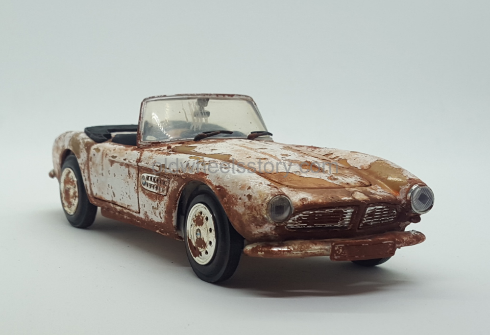 1955 BMW 507. 1/24 Scale, Metal – The Old Wheels Story